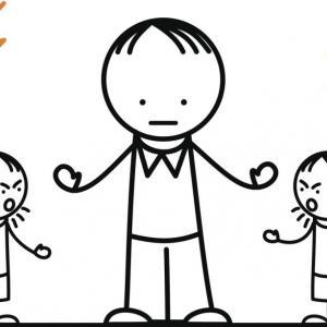 Когато е ядосано, детето посяга и бие