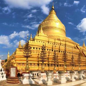 Бирма – свещената златна земя