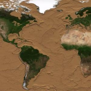 Ето как ще изглежда Земята, ако океаните пресъхнат
