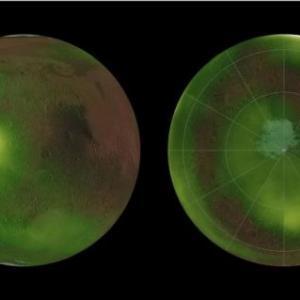 Най-накрая: Можем да видим следи от мистериозното сияние в марсианската атмосфера