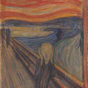 """Откриха тайно послание на Мунк в картината му """"Викът"""""""