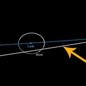 Утре астероид ще се доближи до Земята по-близо от Луната