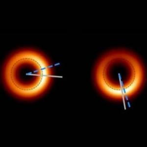 Гигантската черна дупка, която заснехме през 2019-а, изглежда блести