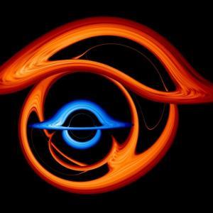 Невероятна визуализация показва какво ще стане, ако съберем две черни дупки заедно