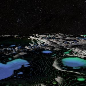 Учени откриха първото недвусмислено доказателство за вода на Луната