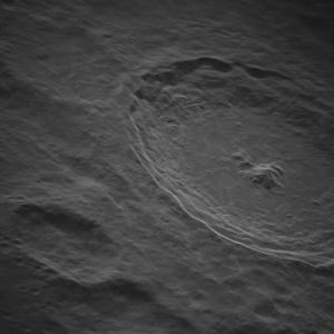 Вижте тази изключително детайлна снимка на лунния кратер Тихо