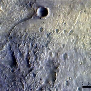 """Можете ли да откриете """"Пърси"""" на тази великолепна сателитна снимка на Марс?"""