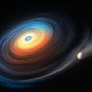 Откриха гигантска планета край бяло джудже за първи път