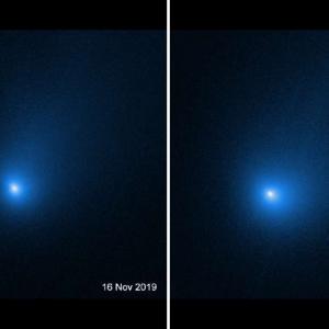 """""""Хъбъл"""" засне междузвездната комета Борисов по пътя ѝ край Слънцето"""
