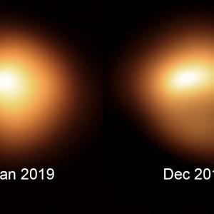 NASA показа нови невероятни снимки на затъмняването на Бетелгейзе