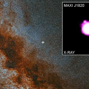 NASA засне струи, изхвърлени от черна дупка и движещи се с 80% от скоростта на светлината