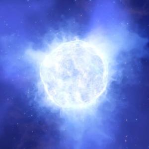 Масивна звезда изчезна безследно?