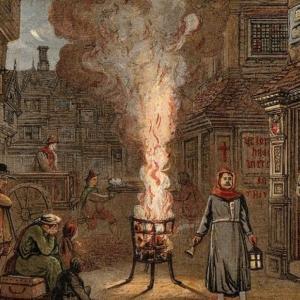 Разпространението на чумите в Лондон е ставало все по-бързо с течение на времето