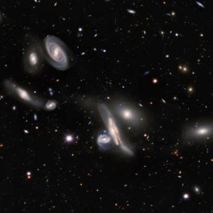 Разгледайте най-голямата карта на Вселената, създавана до момента