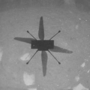 Ново видео с висока резолюция показва историческия полет на Ingenuity