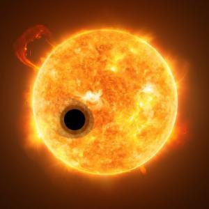Тази изключително пухкава планета променя разбирането ни за планетарното образуване