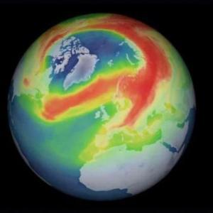 Вече знаем какво вероятно е предизвикало огромната дупка в озоновия слой над Арктика