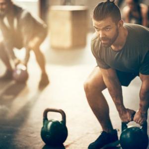 Виц: На фитнес