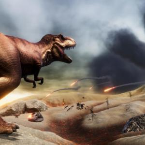 Астероид е създал условия, които са убили повечето динозаври. Вулканите не са виновни