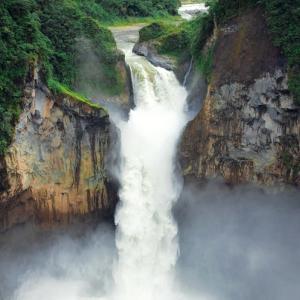 Най-високият водопад в Еквадор изчезна внезапно