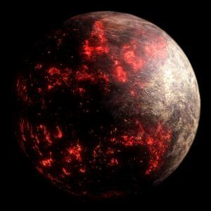 На някои екстремни планети има океани от лава. Но нещо друго ги кара да сияят толкова силно
