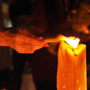 Виц: Голяма свещ
