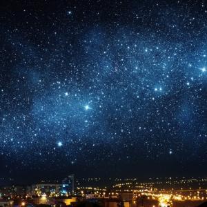 Великолепно видео ни показва какво щеше да бъде, ако можехме да виждаме звездите над градовете