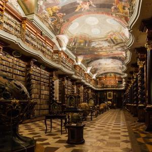 Най-красивата библиотека в света се намира в Прага