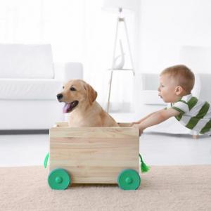Най-добрите породи кучета за деца