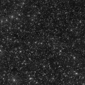 Белите точици на това изображение не са звезди или галактики, а черни дупки