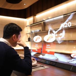 LG създаде прозрачен телевизор