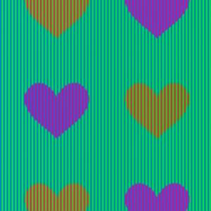 Можете ли да познаете какъв цвят са тези сърца?