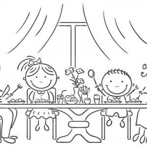Децата предпочитат това, което родителите им ядат