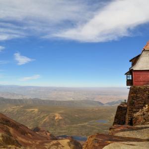 Чакалтая - една хижа на 5420м надморска височина