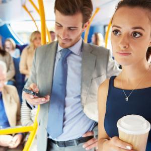 Виц: Трол в градския транспорт