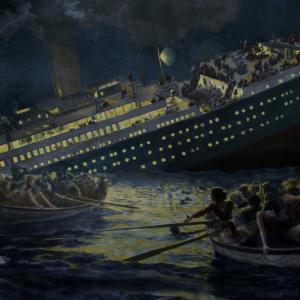 Титаник може би е потънал заради оптическа измама