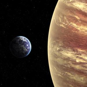 Ето как ще изглежда небето ни, ако Луната бъде заменена от планети