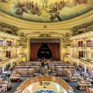 Това е най-красивата книжарница на света