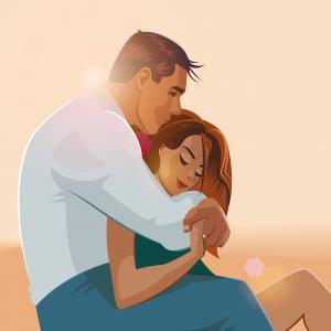 20 вълшебни илюстрации, посветени на красотата на любовта