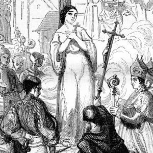 30 май 1431 г. - Жана д`Арк е изгорена на кладата