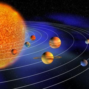 Защо Слънчевата система е почти изцяло плоска?