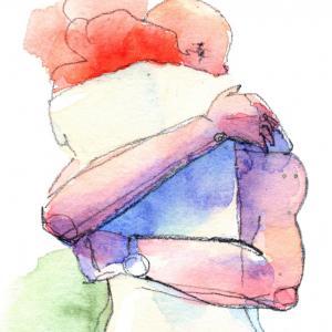 За да преборите стреса, мислете за половинката