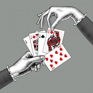 Забавен трик с карти, който винаги работи