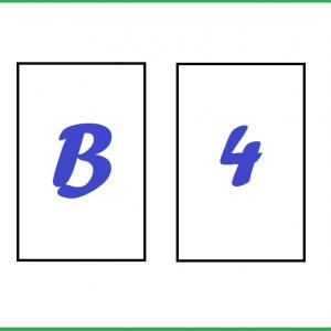 Можете ли да решите прословутата загадка с четирите карти?