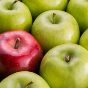 Цветът на храната е определящ, когато решаваме какво да ядем