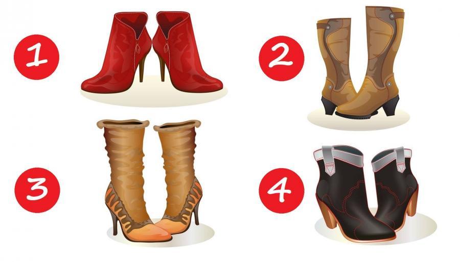 тест: выберите обувь