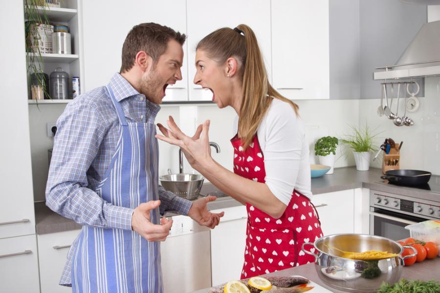 Ссоры с женой продлевают жизнь мужчине